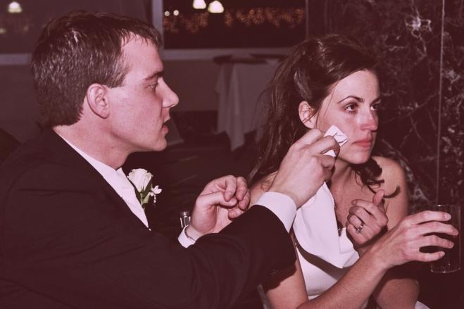 different MN wedding photos - tender wedding moments between bride and groom