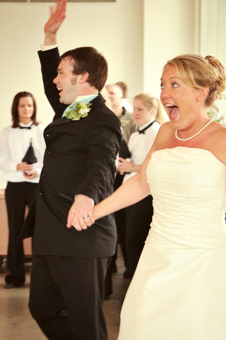 exciting MN wedding photography - wedding day woot